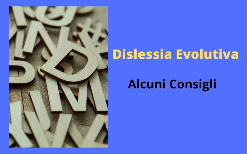 dislessia evolutiva