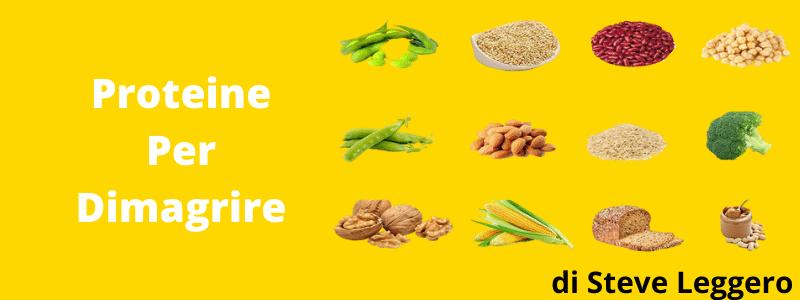 proteine per dimagrire