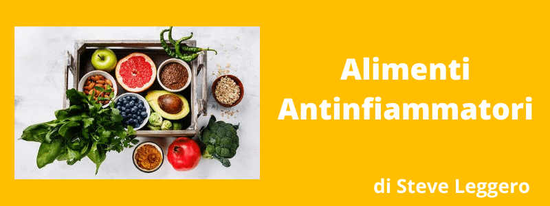 alimenti antinfiammatori