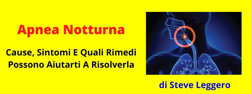 Apnea Notturna: Cause, Sintomi E Rimedi Che Possono..